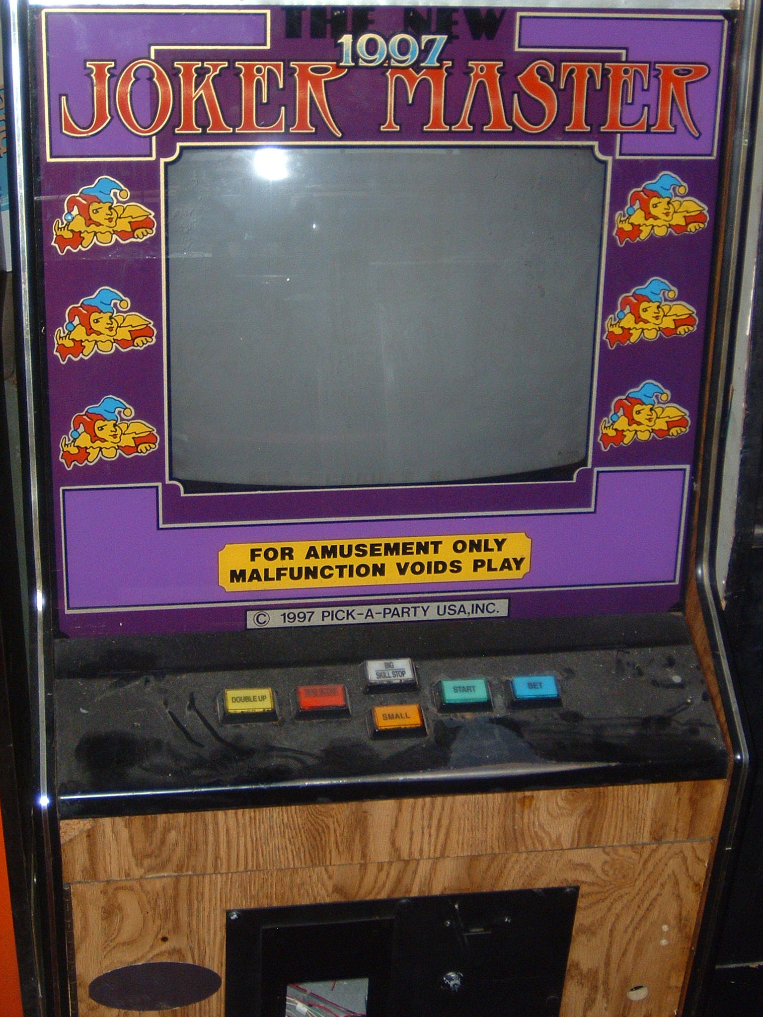 Joker Cherry Master Arcade Machine