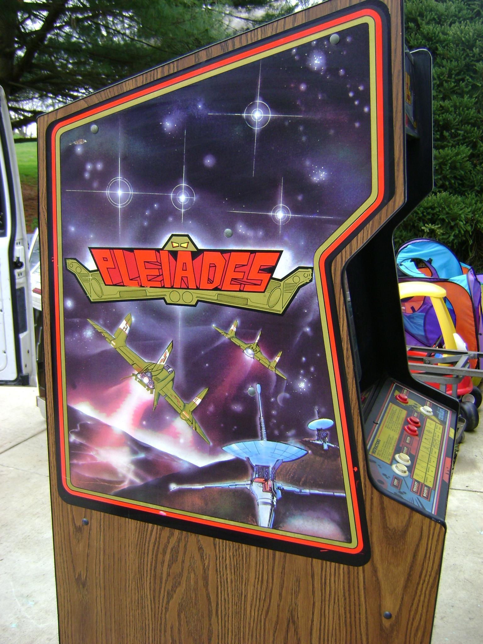 Pleiades Arcade Machine
