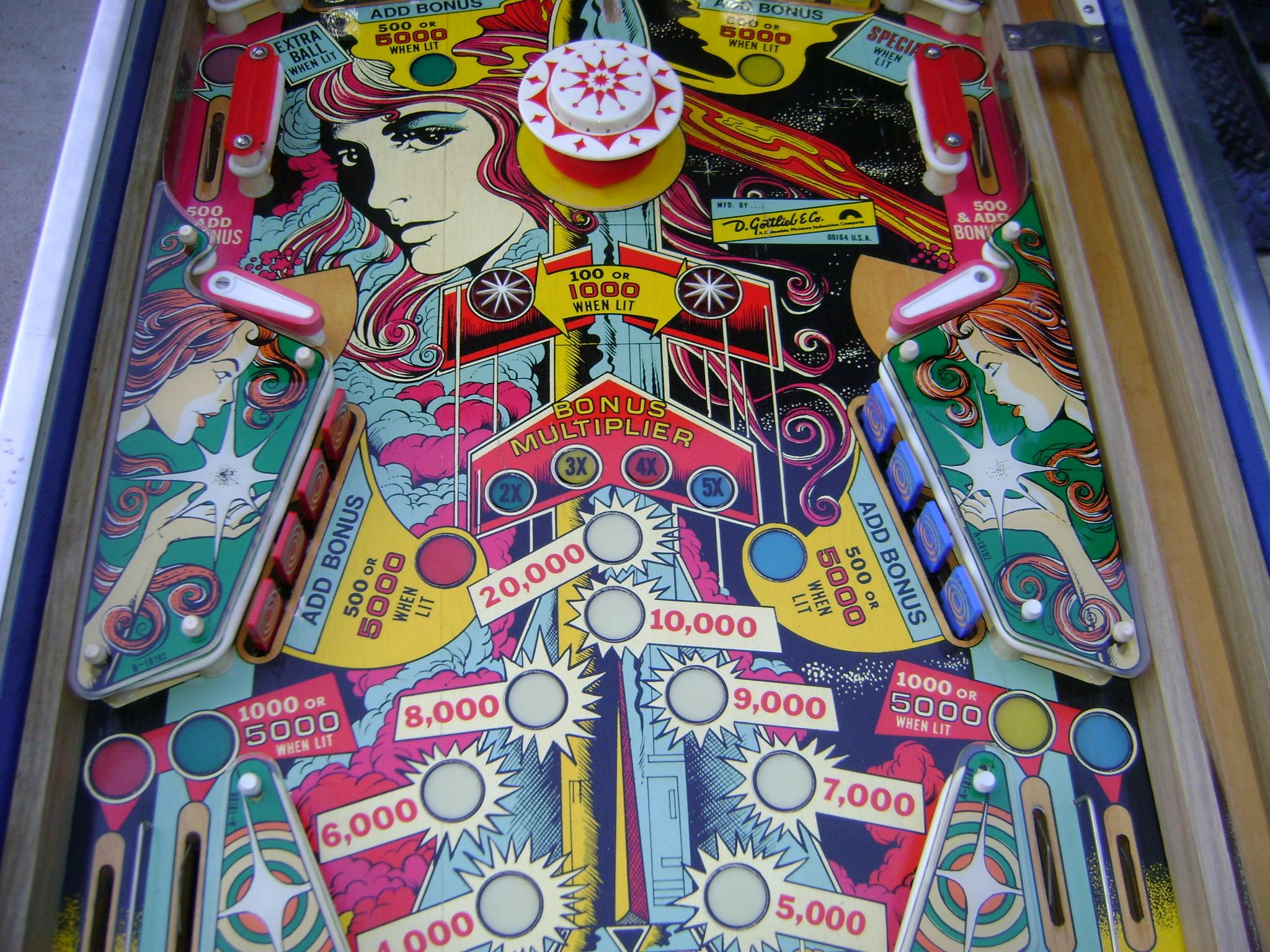 pinball machine repair in maryland