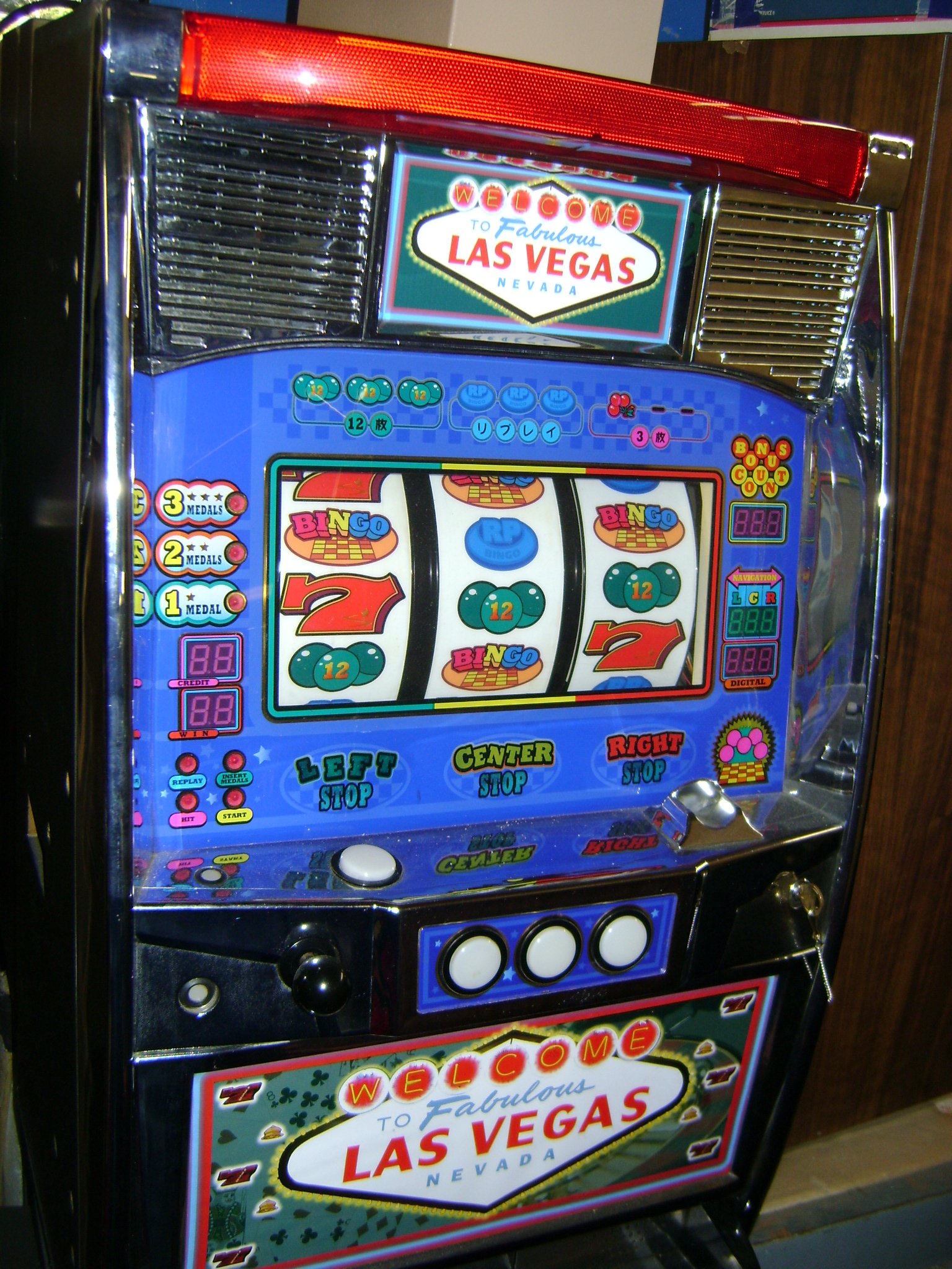 Las vegas slot machine repair
