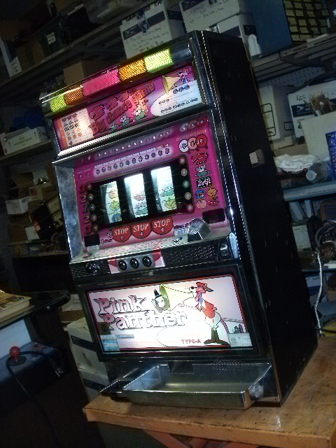 Slot machine pink panther