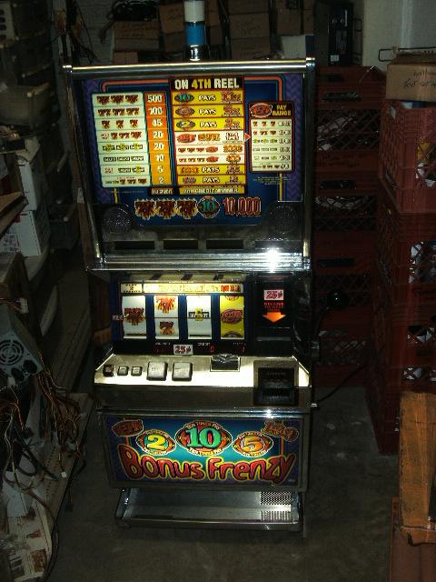 Bally slot cabinets